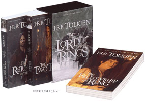 LOTR Movie Tie In Box Set
